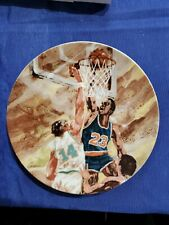Michael Jordan  Avon Moments of Victory plate Never Dispayed Beautiful!