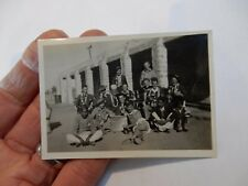 WW2 INDIAN ARMY FUN  PHOTOGRAPH  85 X 65 mm   d