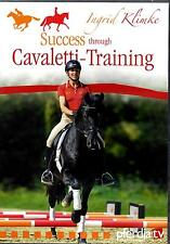 Ingrid Klimke Success Through Cavaletti Training DVD New & Sealed