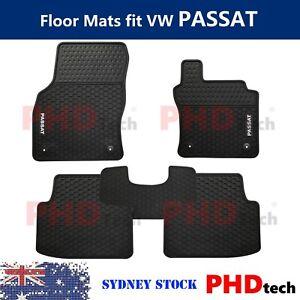 Prime All Weather Rubber Floor Mats fit Passat Mats Passat B8 2015-2021