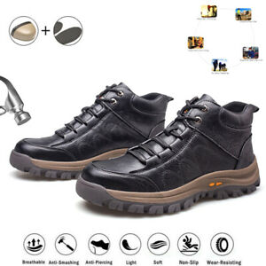 Safety Shoes Trainers Mens Steel Toe Cap Work Protective Boots Breathable Womens