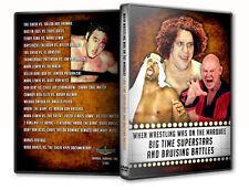 Pro Wrestling Big Time Superstars DVD, Baron Von Rashke AWA NWA The Sheik