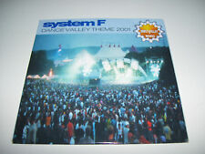 SYSTEM F - DANCE VALLEY THEME 2001 2tr. CD SINGLE