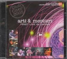 "ARTI E MESTIERI - RARO CD FUORI CATALOGO CELOPHANATO "" FIRST LIVE IN JAPAN """