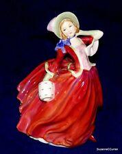 "Royal Doulton AUTUMN BREEZES Muff Lady Figurine HN 1934 7 1/2"" Tall"