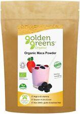Golden Greens Organic Maca Root Powder 100g - Libido Fertility Energy Endurance