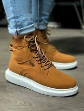 Knack KN404 Sneakers   Braun   Weiße Sohle