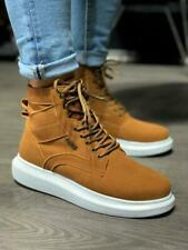 NEU Knack KN404 Sneakers Braun | High top | Herren Schuhe | Sportliche Boots