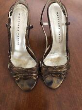 Martinez Valero Bronze Shoes 38