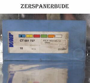 4 Wendeplatten KNUX 160410EL-12 GM40 WNT Neu, mit Rechnung