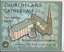 CHURCHES & CATHEDRALS THEIR BUILDING & USE 1964