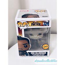 Funko Pop! Marvel Black Panther ERIK KILLMONGER (278) CHASE (light Wear)