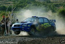 "Petter Solberg World Rally Champion 03 SUBARU IMPREZA HAND SIGNED PHOTO 12x8"" IC"