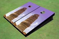 Leaning Tower Of Pisa Custom Cornhole Board