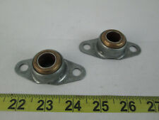 Lot of 2 Triangle Flanged Bearings 5121-74 520643 FIC123