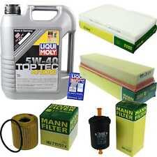 Inspektionskit Filter Liqui Moly Oil 5L 5W-40 for Peugeot 307 3A/C 1.4 16V