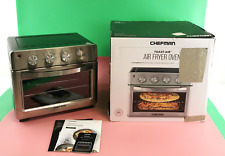 Chefman Air Fryer 6 Slice, 26 QT Toaster Oven w/ Auto Shut-Off, Stainless Steel