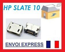 Micro USB DC Carga Toma Conector De Puerto para HP SLATE 10