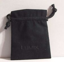 "Panasonic Small 3X2.5"" Lens Pouch Case/Storage Bag Lumix M4/3 12mm 14mm 14-42mm"