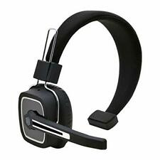 Bluetooth Wireless Headset Headphones Noise Canceling Stereo Mic Trucker Drivers