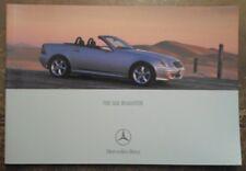 MERCEDES BENZ SLK orig 2000 UK Mkt Prestige Sales Brochure - 200 230 320