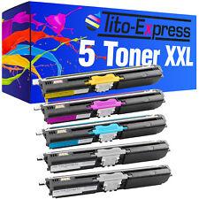 5 toner pour Konica Minolta Magicolor 1600 1600w 1650 1650en DT 1680 MF 1690 MF