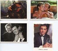 James Bond Dangerous Liaisons Promo Card Set 4 Cards