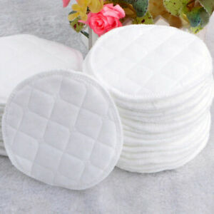 20x Reusable Breast Pads Bamboo Nursing Mother Breastfeeding Washable