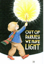 Out Of Darkness Light-Handcrafted Christmas Magnet-W/Mary Engelbreit art