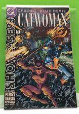 Showcase '93 #1 DC Comics 1993 Catwoman, Blue Devil & Cyborg