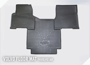 FKVOLVO1AB Minimizer Volvo VNL VT Automatic Transmission Heavy Duty Floor Mats