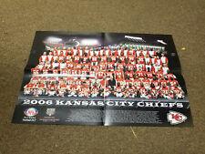 "Kansas City Chiefs NFL Football 2006 Team Photo Poster (20"" x 13.5"")"