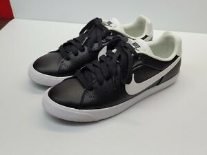 [Excellent] Nike Court Tour Women 8 Skinny Leather Fashion Shoe 532364 010