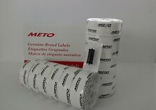 METO LABELS 2200/2  to suit Priceguns13.22 and 15.22 Box White + Free ink roller