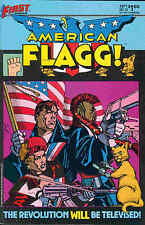 American Flagg! # 12 (Howard Chaykin) (USA, 1984)