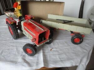 DDR Spielzeug Traktor Anhänger Anker PIKO