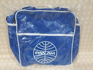 Vintage PAN AM  Carry On Bag -  Retro  America World Airways- New Old Stock