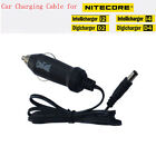 12V DC Car Auto Power Charge Adapter Cord Cable For NITECORE I2 I4 D2 D4 Charger