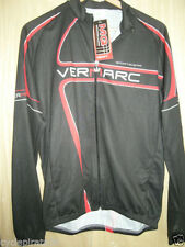 Vermarc Men's Polyester Cycling Jerseys with Full Zipper