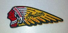 """Indian Motorcycle Biker Patch~4"""" x 1 5/8""""~Great for Jacket~Vest~Hat~Ships FREE"""