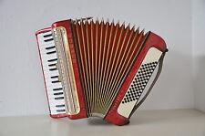 Vintage HOHNER AKKORDEON Modell CONCERTO II accordion inklusive Koffer und Gurt