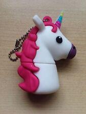 Magical New Cute Novelty White Unicorn, 128MB USB Flash Drive Memory Stick
