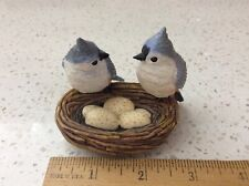 Bradford exchange Holiday Tweets Songbird Tree Collection Tufted Titmouse pair