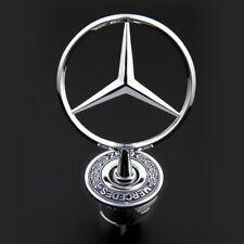 3D Chrome Front Hood Logo Emblem Badge for Mercedes Benz C-class E-class S-class