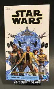 "Star Wars Black Series 6"" Luke Skywalker Yavin Ceremonial German Comic Con Jedi"