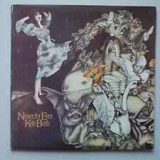 Kate Bush - Never Ever Vinyl LP Greek Press Rare Sleeve Error EX/EX+