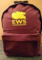 EWS RUCKSACK BRAND NEW EMBROIDERED BACK PACK BAG BRITISH RAIL BR CLASS 66 67 60