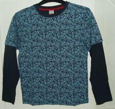 Magliette e maglie con girocollo per bambini dai 2 ai 16 anni 100% Cotone Taglia 11-12 anni