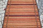 Caucasian Wool Kilim 40'' x 60'' Vintage Caucasian Rahrah Wool Kilim Area Rug