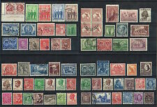 Australia - Selection Of Good/Fine Used Kgvi Stamps